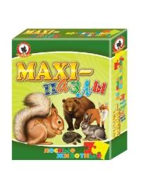 Макси пазлы Лесные животные